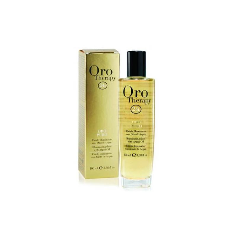 Fluido Oro Puro Fanola - Oro Therapy - 24k - 100ml