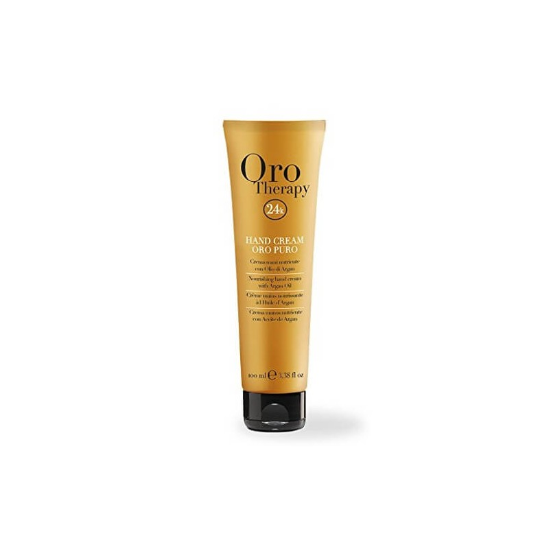 Hand Cream Oro Puro Fanola Oro Therapy 100 ml