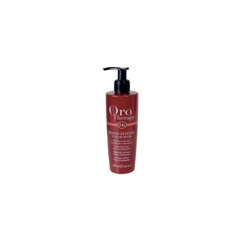 Fanola Oro Therapy Color Mask Rosso Intenso 250 ml