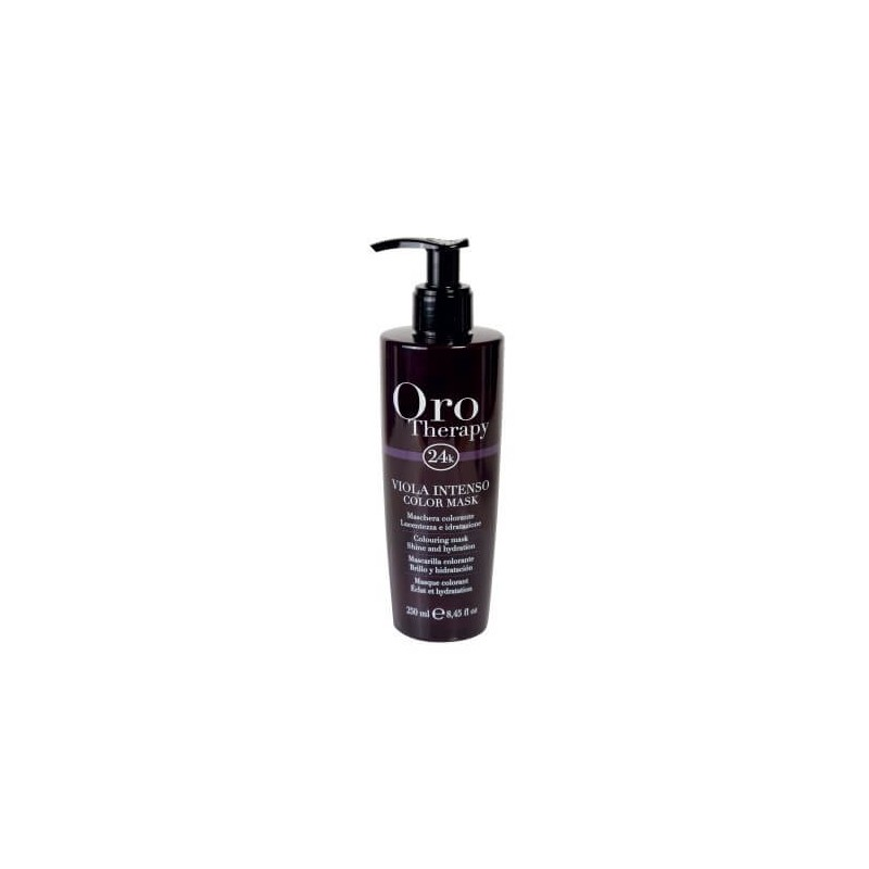 Color Mask Viola Intenso Fanola Oro Therapy 250 ml