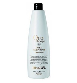 Fanola Oro Therapy Gold Activator Acqua Ossigenata 10 Vol 3% 1000 ml