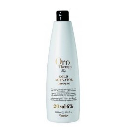 Fanola Oro Therapy Gold Activator Acqua Ossigenata 20 Vol 6% 1000 ml