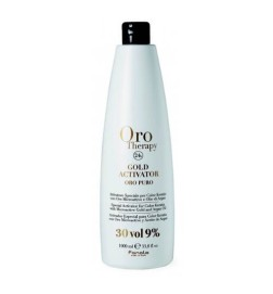 Fanola Oro Therapy Gold Activator Acqua Ossigenata 30 Vol 9% 1000 ml