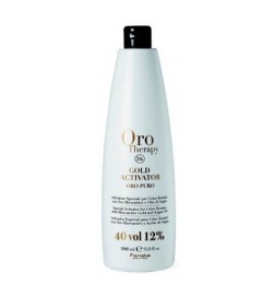 Fanola Oro Therapy Gold Activator Acqua Ossigenata 40 Vol 12% 1000 ml