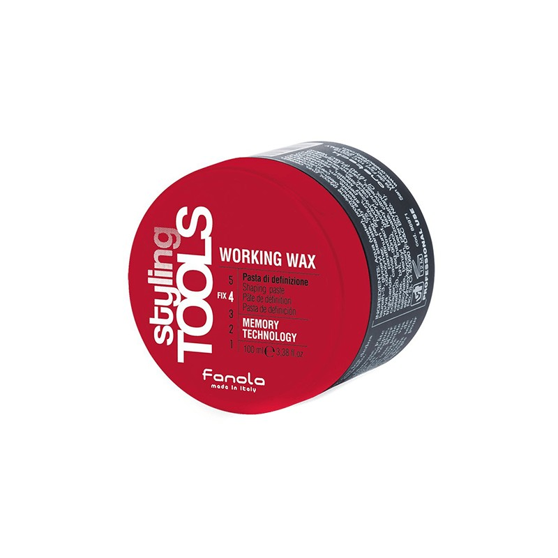 Pasta di Definizione Working Wax Styling Tools by Fanola 100ml