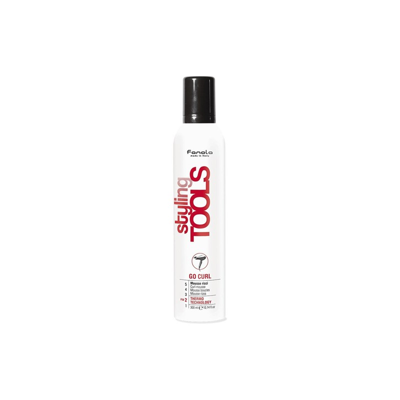 Mousse per Capelli Ricci Go Curl Styling Tools by Fanola 300ml