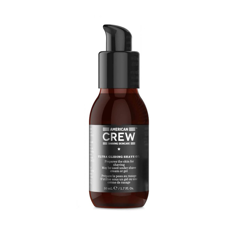 American Crew Ultra Gliding Shave Oil 50 ml Olio Barba