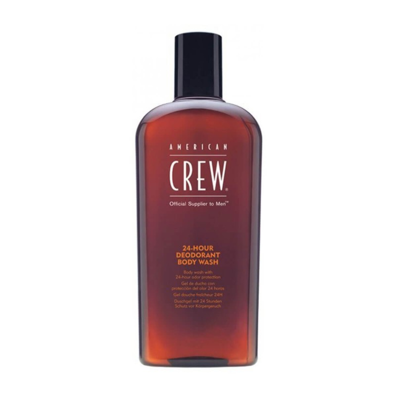 American Crew-Bagnoschiuma uomo-24 Hours Odor Control Body Wash 450 ml