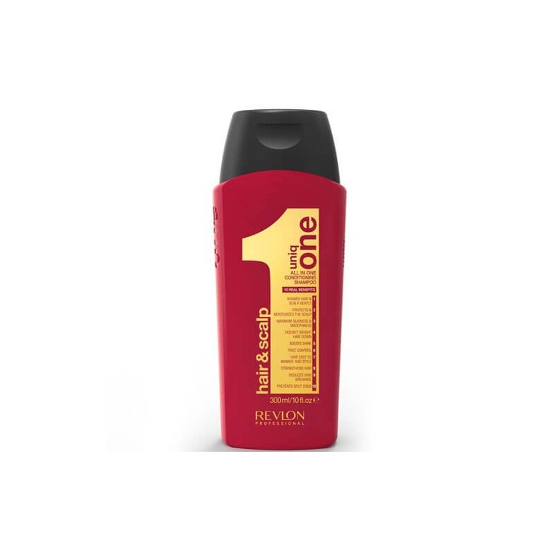 Shampoo_Revlon UniqOne Trattamento shampoo All In One Conditioning 300ml_FBSREUN001