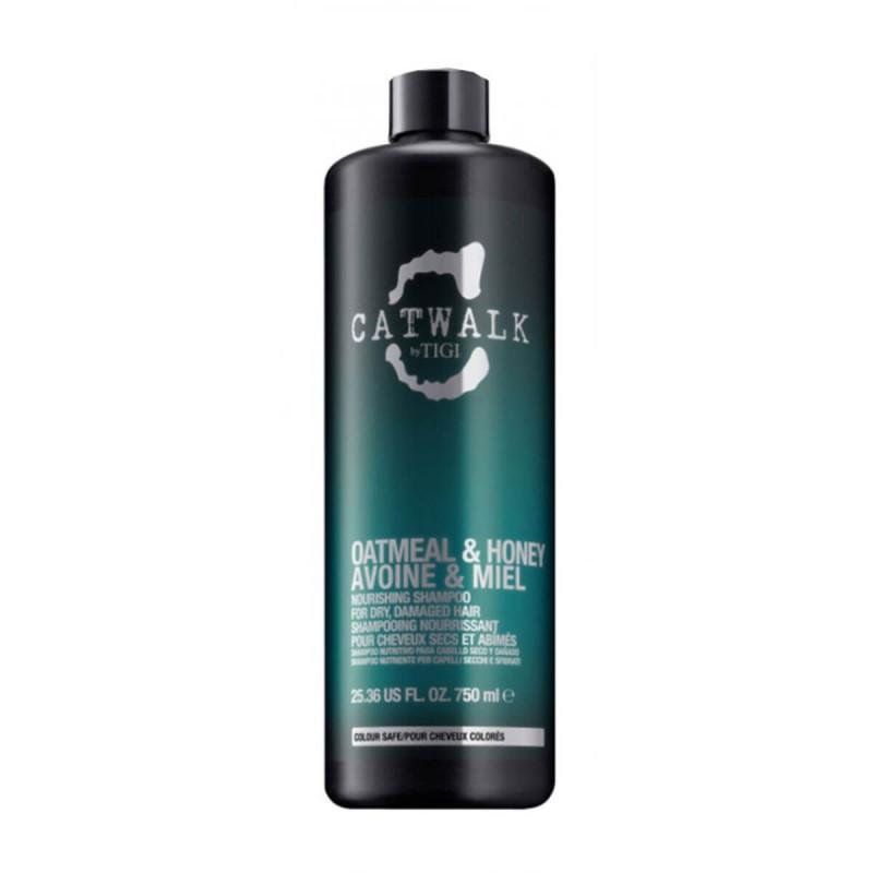 Tigi Catwalk-Shampoo capelli secchi-Oatmeal & Honey Shampoo 750 ml
