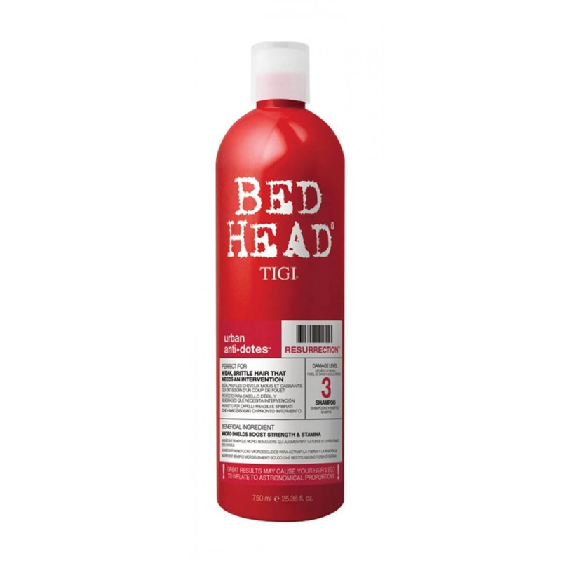 Shampoo Tigi Bed Head Resurrection Level 3 750 ml