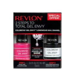 Home_Revlon Colorstay Gel Envy Longwear Smalto per unghie, 2 Step Pack_