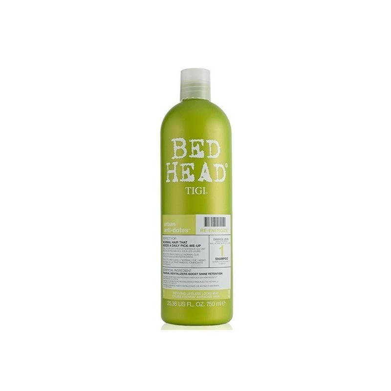 Tigi Bed Head Re Energize Shampoo Level 1 750 ml
