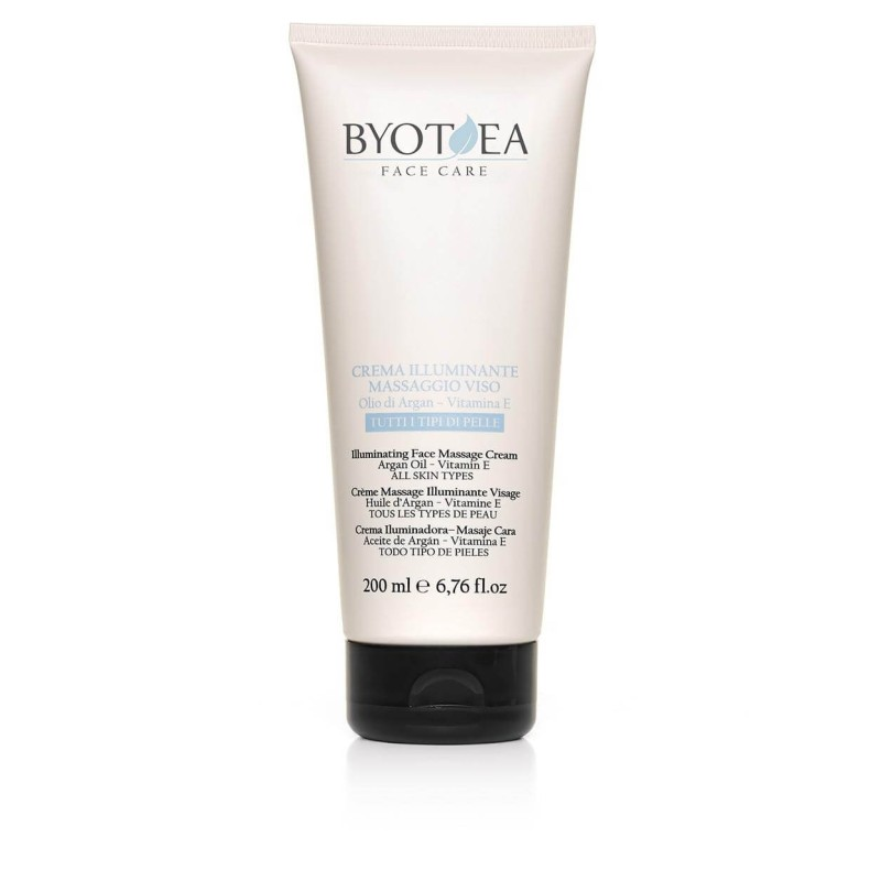 Crema Illuminante Massaggio Viso Byothea 200ml