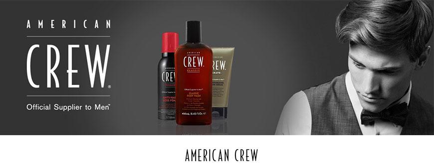 Scopri i prodotti per la cura e lo stile dei capelli maschili, American Crew